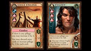 Pillage Themed Cards